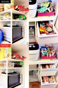 キッチン収納の整理収納
