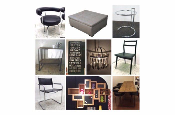 椅子やチェストフォトフレームなどのインテリア用品