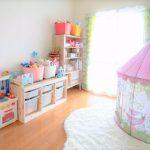 お片付けされたかわいい子供部屋