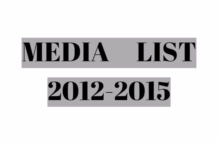 2012-2015年度メディア掲載一覧