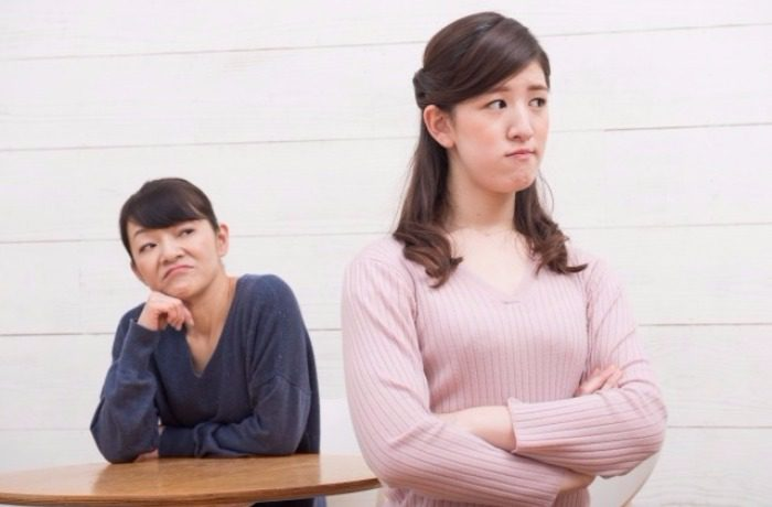 嫁姑が対立