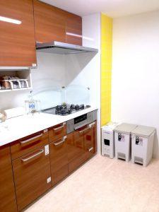 整理収納引越しプラン、作業後のキッチンの画像