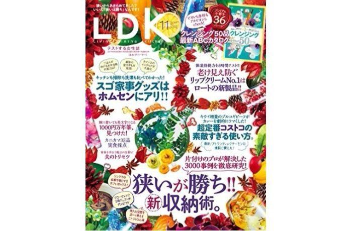 LDK11月号『狭いが勝ち!新収納術。』