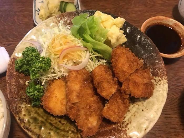 名古屋の味噌カツ定食