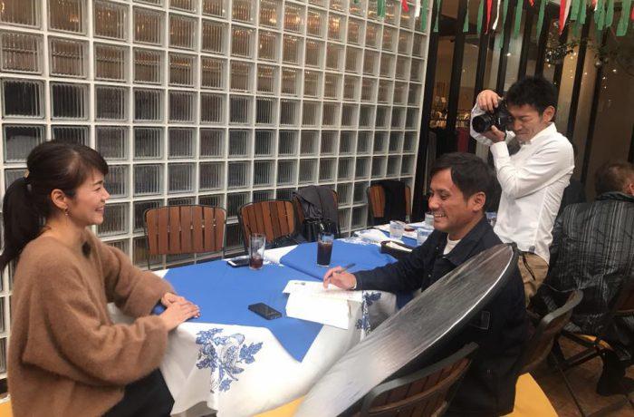 フリースタイルマガジンHana SHONANインタビュー風景