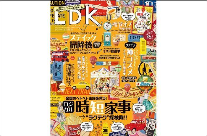 LDK6月号|第一特集は「ロジカル時短家事 ラクテク探検隊